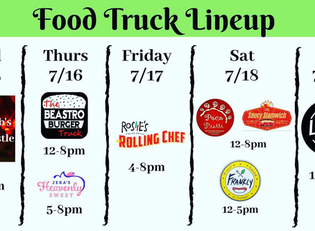 Week of 7/15 foodtrucks