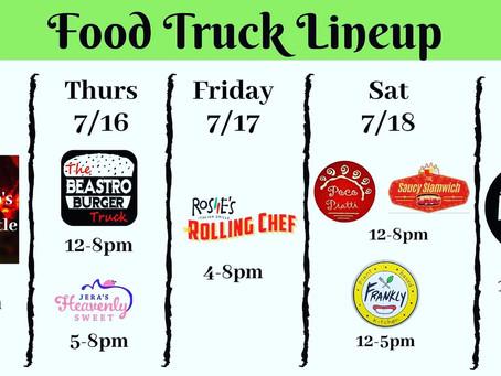 Week of 7/15 foodtrucks