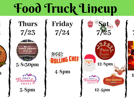 Christmas in July Food Trucks