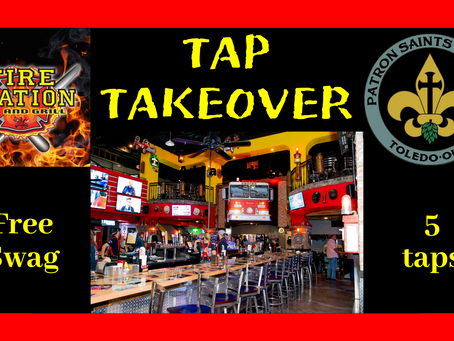 Tap Takeover at Fire Station Bar & Grill