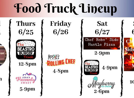 6/24 food trucks & floats