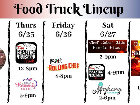 6/24 food trucks & floats