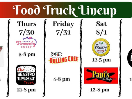 7/29 food truck