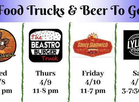 4/8 - 4/11 Food Trucks