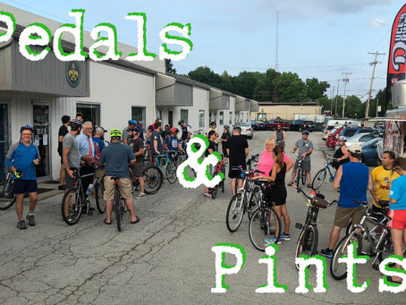 Pedals N Pints to Plat8