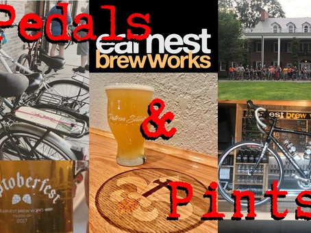 Pedals N Pints to Earnest Brew Works