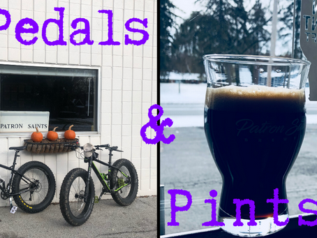 #pedalsNpints to Orchard Inn
