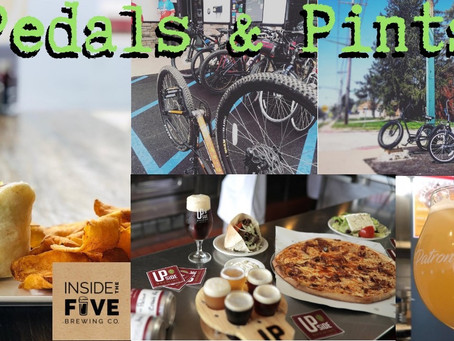 #PedalsandPints to Upside & Inside the 5