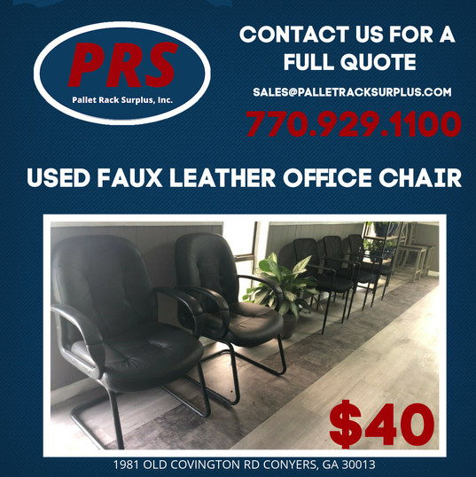 SAUARE - CHAIR  - Faux Leather Chairs.jp