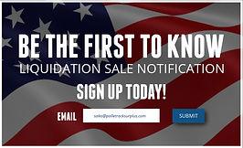 CLIP ART - WEBSITE - Liquidation Pop Up