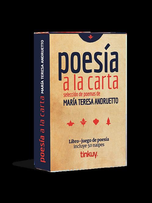 Poesía a la carta - María Teresa Andruetto