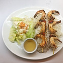 Crevettes grillés (7) / Grilled shrimps (7)