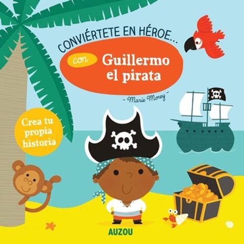 Conviértete en un héroe... con Guillermo el pirata