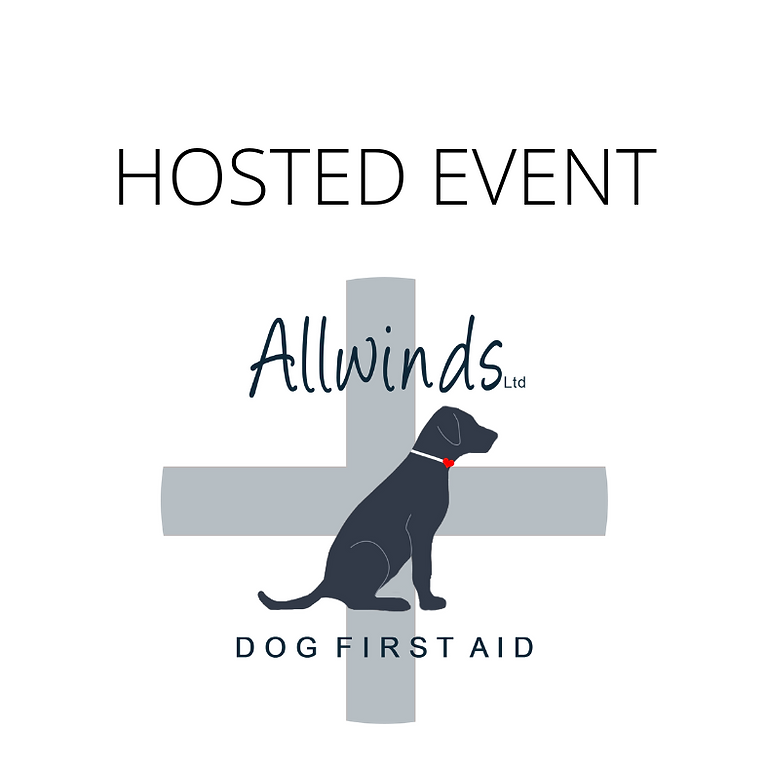 Allwinds Dog First Aid - PUXTON        Hosted by Casey Vearncombe