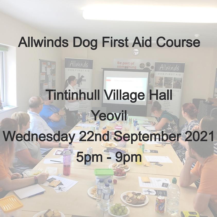 Allwinds Dog First Aid - Tintinhull YEOVIL