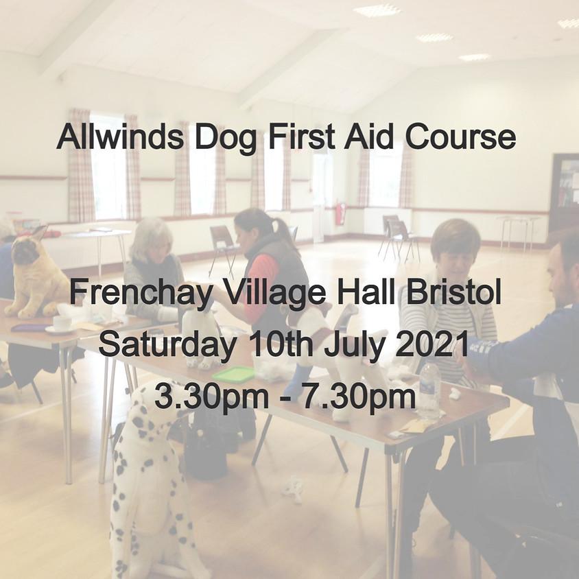 Allwinds Dog First Aid - FRENCHAY BRISTOL