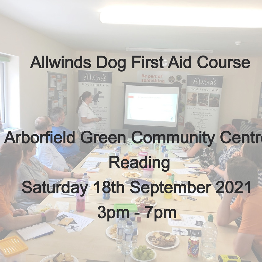 Allwinds Dog First Aid READING