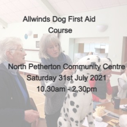 Allwinds  Dog First Aid North Petherton
