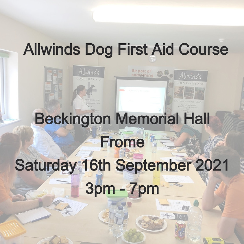 Allwinds Dog First Aid FROME