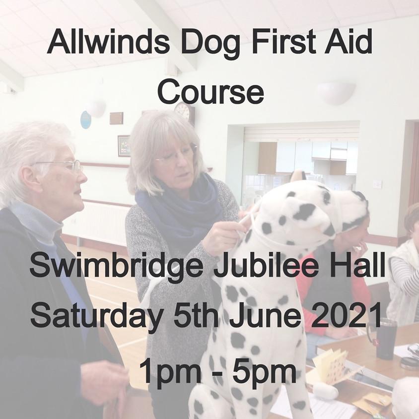 Allwinds Dog First Aid Swimbridge