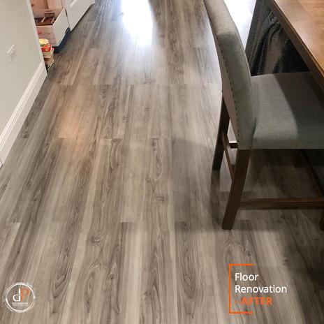 Floor Renovation - DP Economy Services