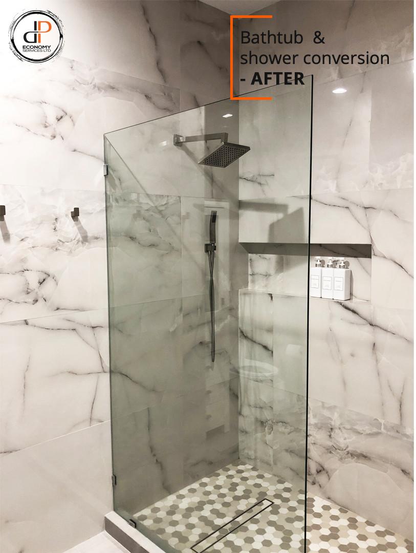 Bathroom Renovation - DP Economy Service
