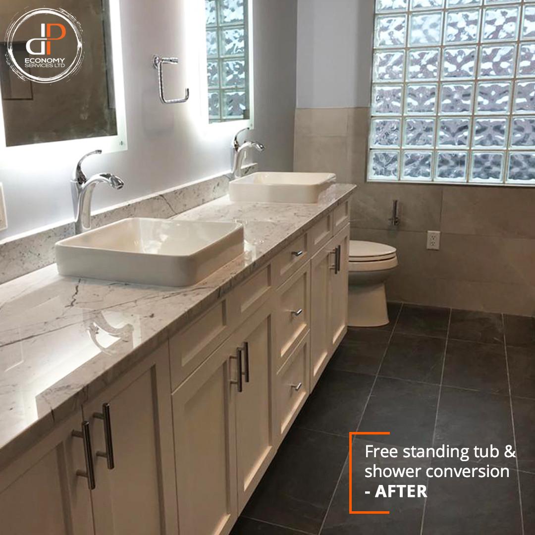 Bathroom Renovation - DP Economy Services