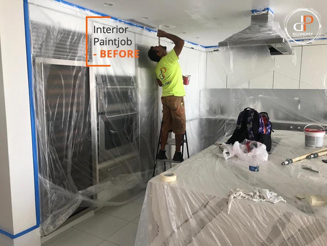 Interior & exterior Painting - DP Economy Services