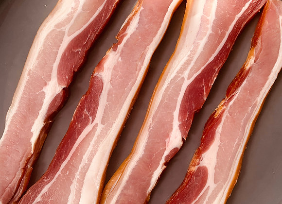 Dry Cured Smoked Streaky Bacon 225g