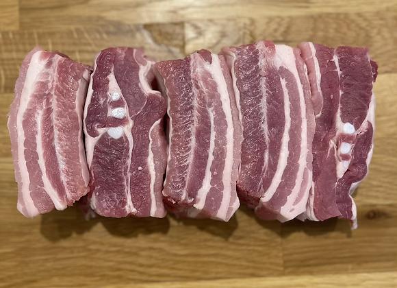 Meaty Belly Pork Ribs