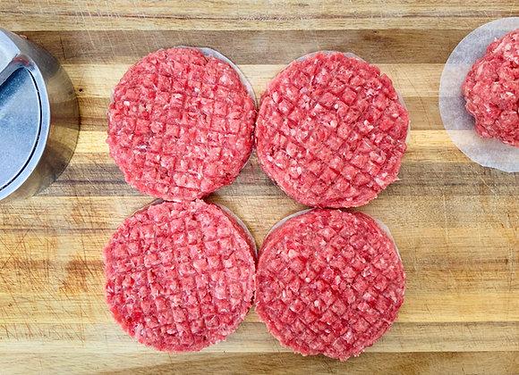 Steak Burger - 4 pack