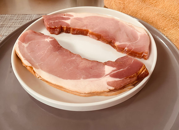 Dry Cured Smoked Back Bacon 225g