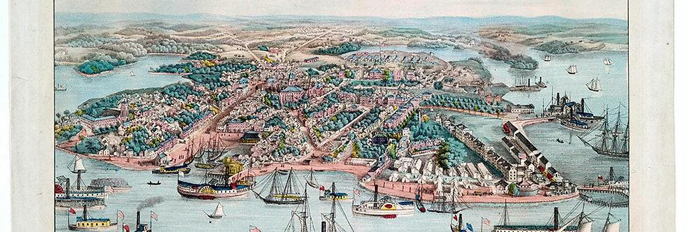 Bird's Eye View of Annapolis