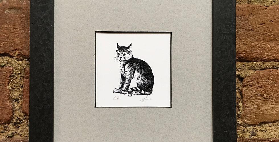 Cat Heraldic Crest