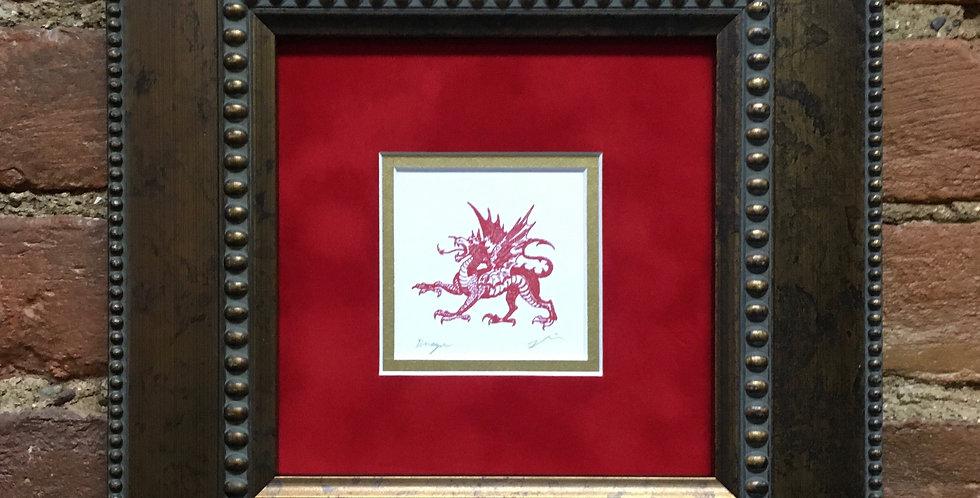 Dragon Heraldic Crest