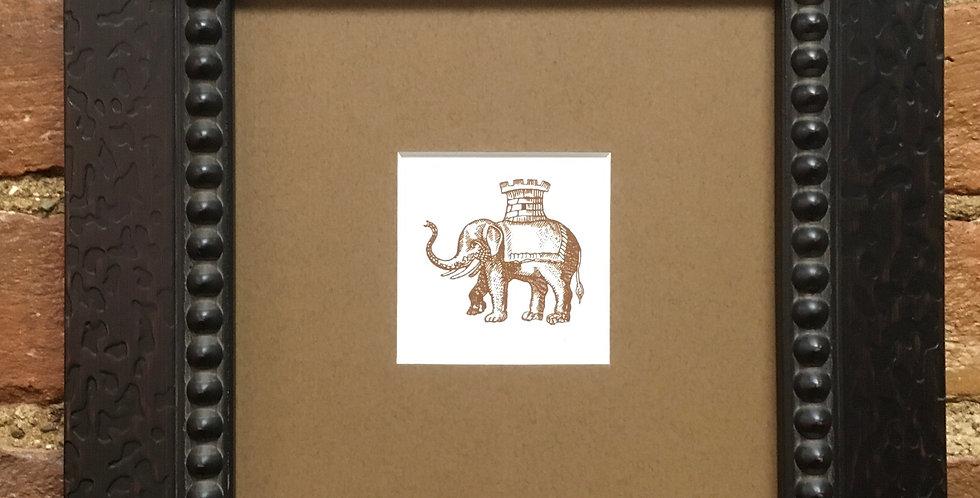 Elephant - Castle Heraldic Crest