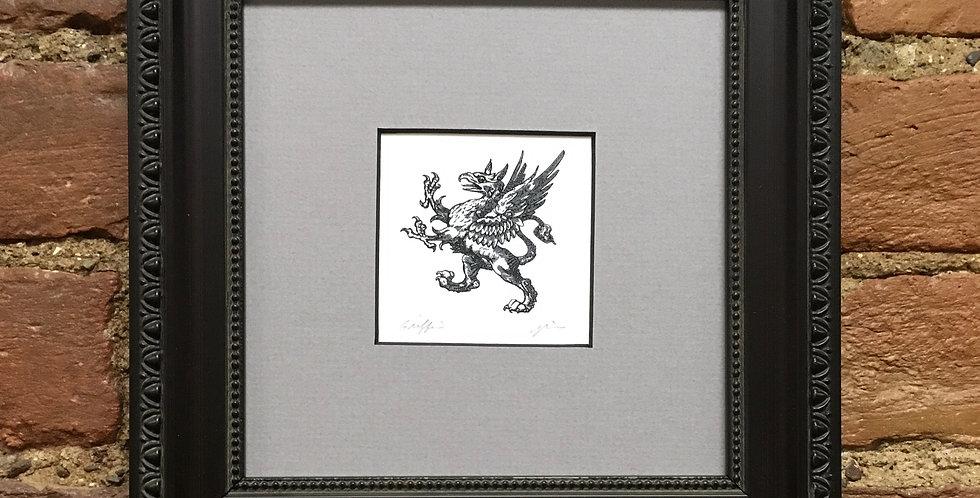 Griffin Heraldic Crest