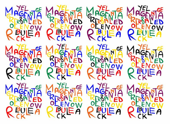 Variations of Color Words