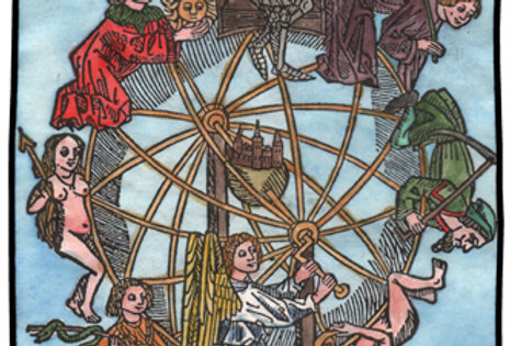 The Wheel of Fortune (colored)