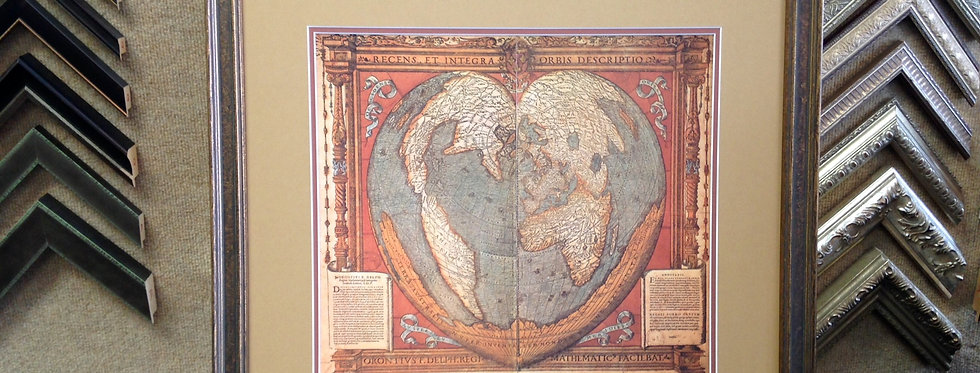 Heart Map of the World