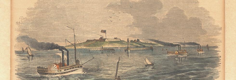 Fort Ontario, Oswego River