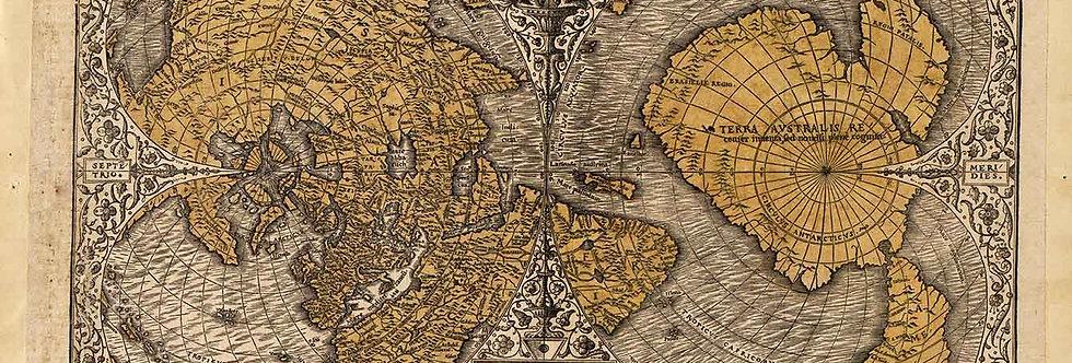 Polar Map of the World