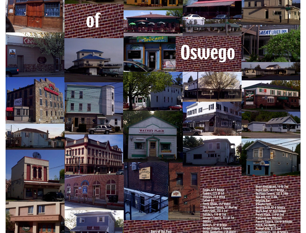 Some of the Bars Of Oswego