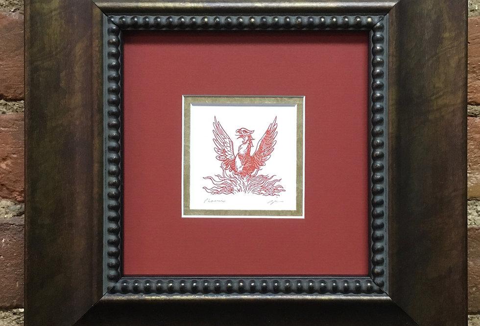 Phoenix Heraldic Crest