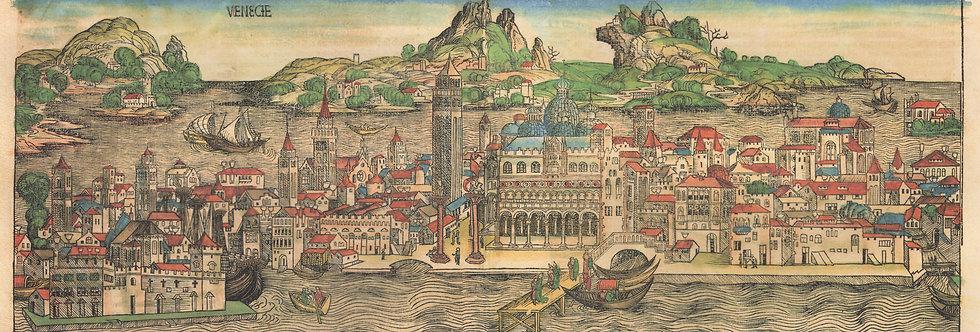 Venecie (Venice) Panorama