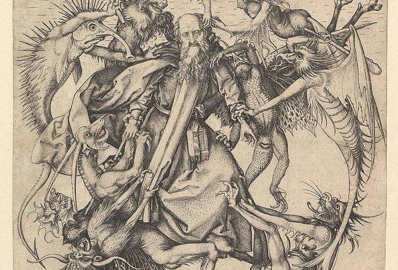 The Temptation of Saint Anthony (Schongauer)