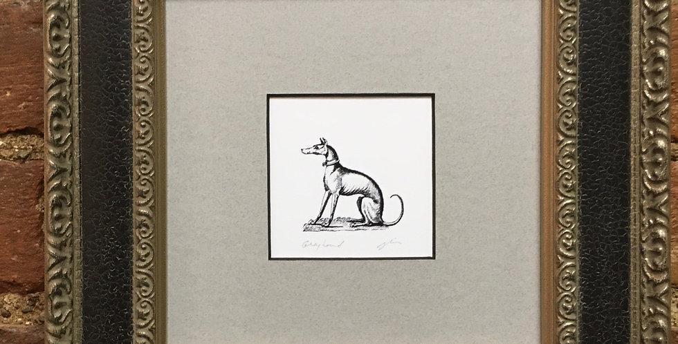 Greyhound Heraldic Crest