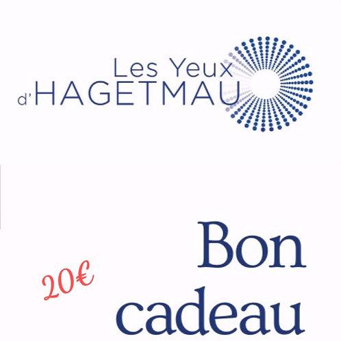 Bon cadeau Les Yeux d'Hagetmau