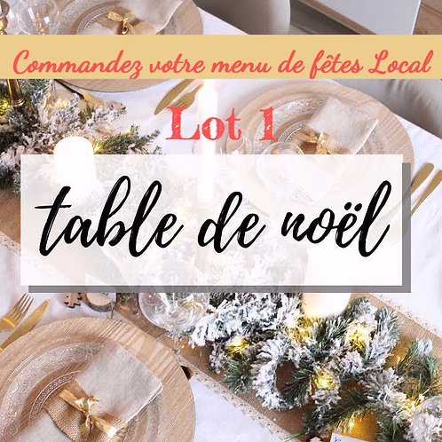Repas de fêtes LABARTHE 1