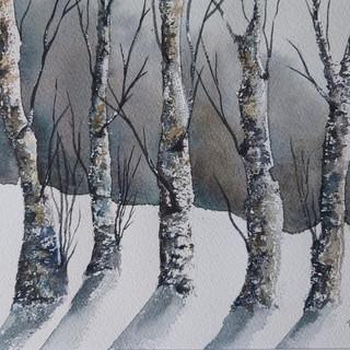 Božič Blanka Nemi stražarji akvarel.jpg